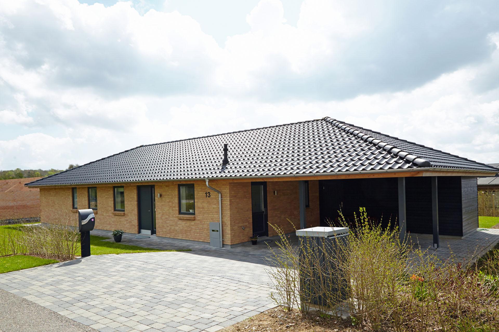 Længe eller længehus er en grundmodel til individuelt husbyggeri ...